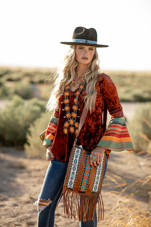The Grand Canyon: Bell Sleeve Blouse