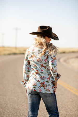 The Annie Oakley: Button Up