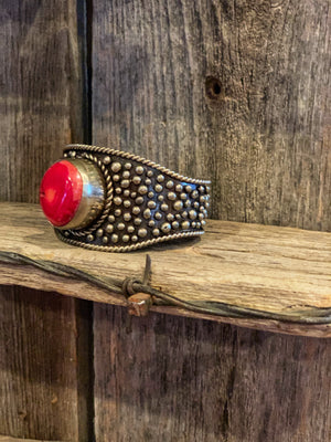 The Dotty: Oval Dot Cuff