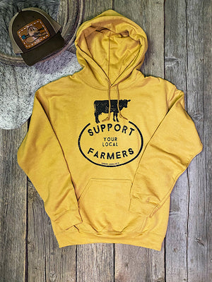 Support Your Local Farmer: Hoodie