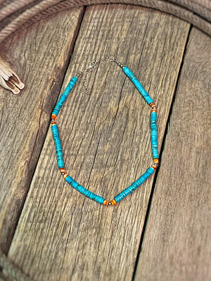 The Jane: Heishi Necklace