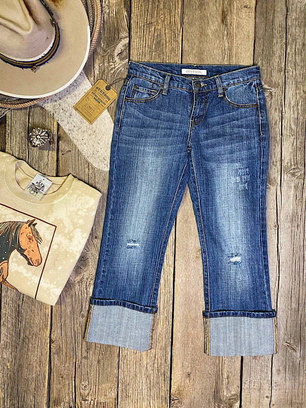 The Revolver: Cropped BF Jeans