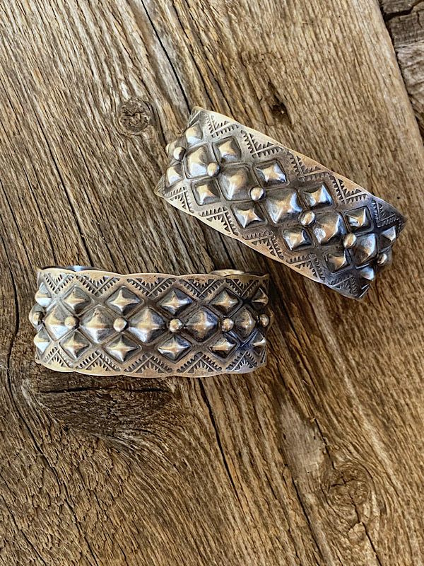 Tatum: Sterling Cuffs