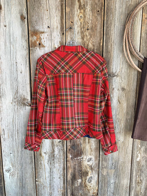 The Meagan: Plaid Jacket