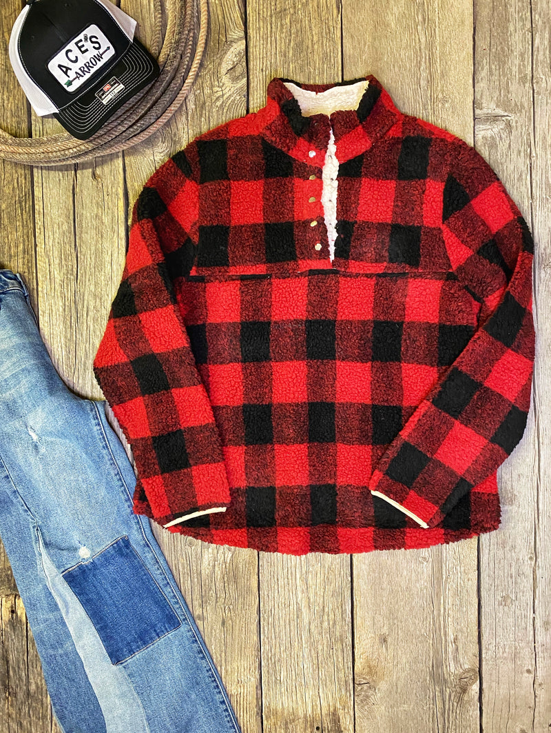 The Brisk Mornings: Plaid Pullover