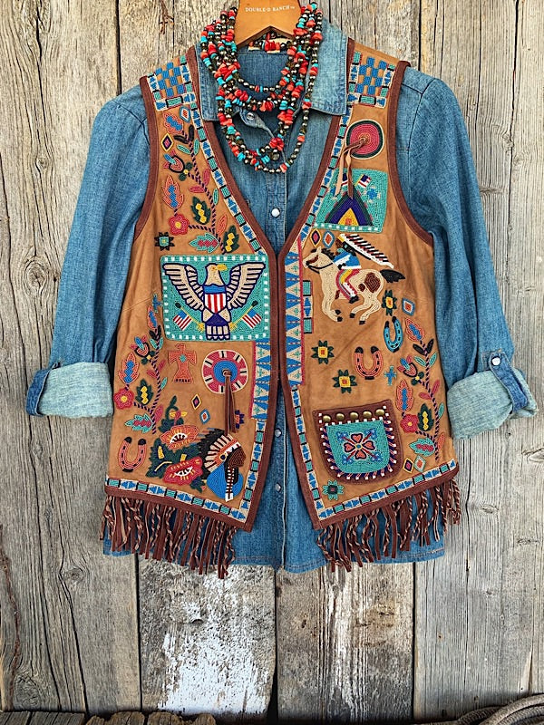 American Assemblage: Beaded Vest