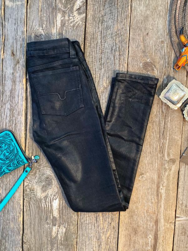Bonnie Slick: Oil Waxed Jeans