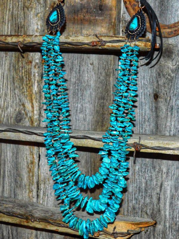 The Bisbee: Turquoise Necklace