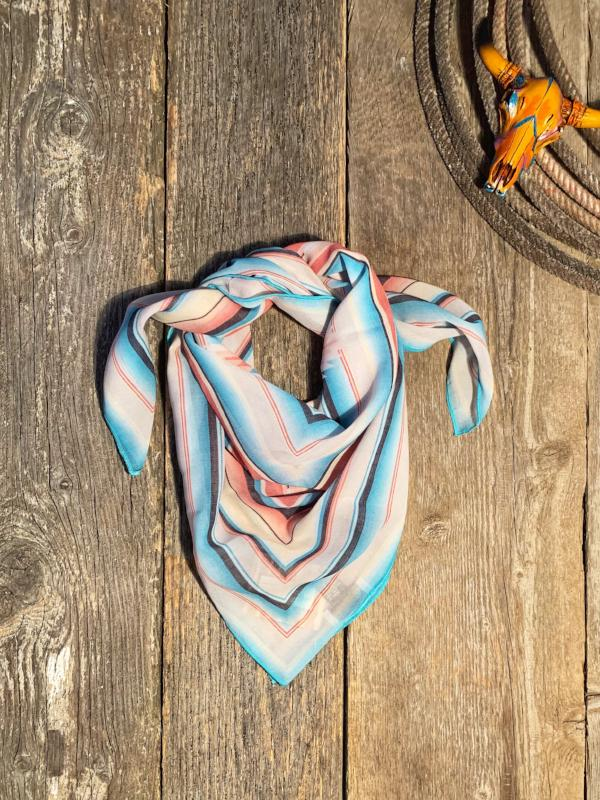 Amarillo By Morning: Serape Scarf