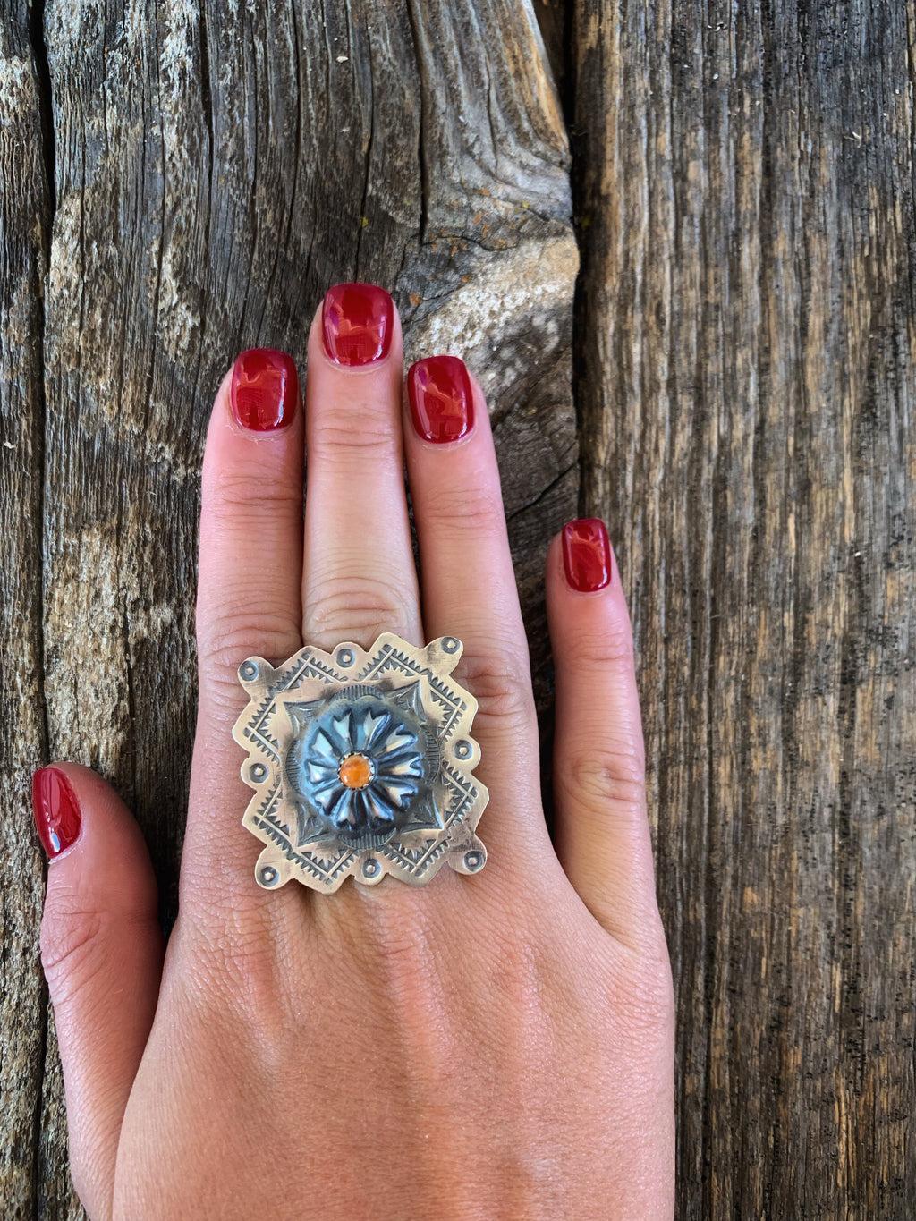 The Southern Belle: Concho Ring