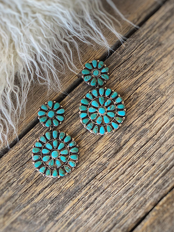 Ring Of Fire: Cluster Earrings