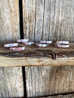 The Apache: Pink Opal Bands