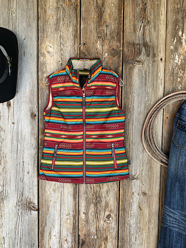 The First Gather: Serape Vest