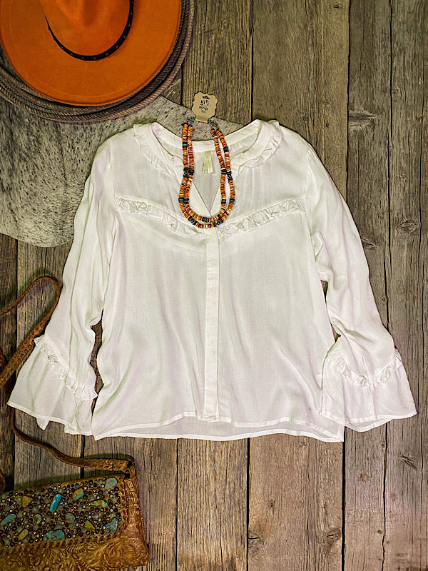 Cave Creek: Bell Sleeve Blouse