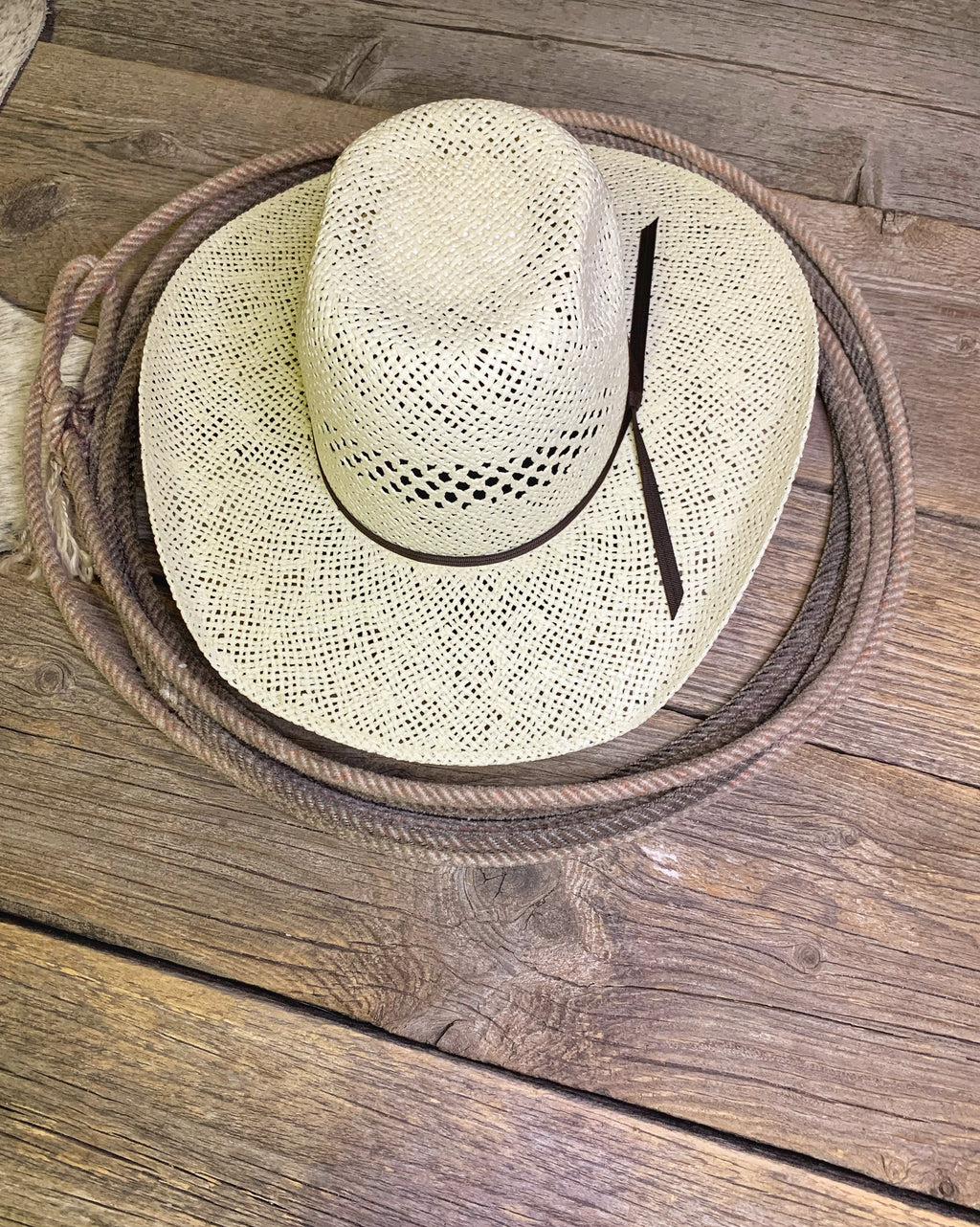 The Dallas: Youth Straw Hat