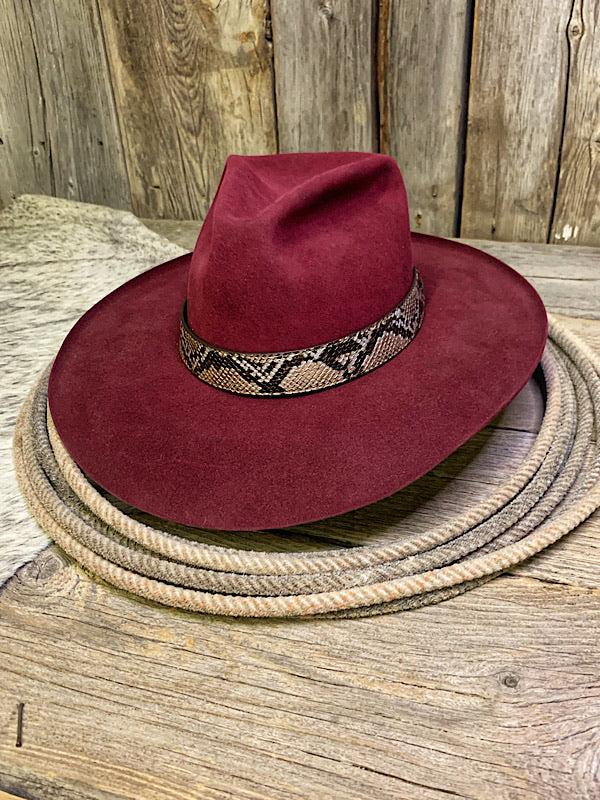 Snakeskin Hat Band