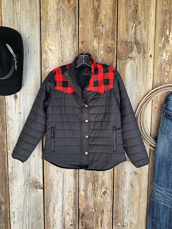 The Weaning Season: Buffalo Plaid Jacket