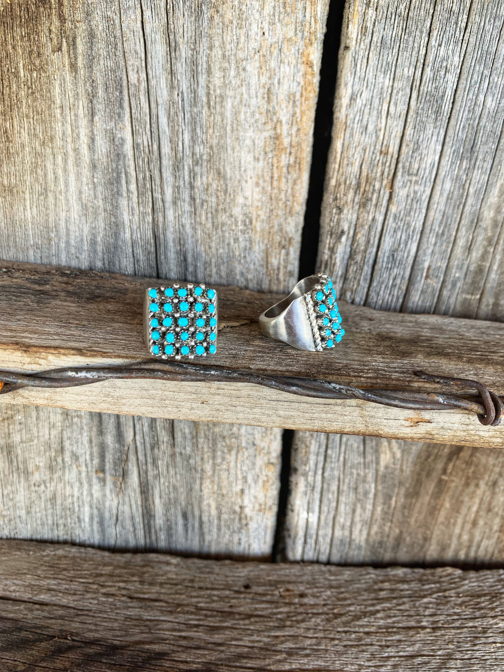 The Comanche: Turquoise  Rings