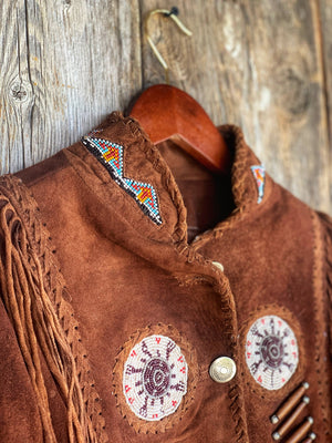 Red Rock Park: Beaded Jacket