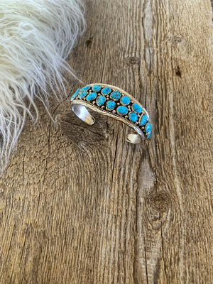The Regulator: Turquoise Cuff