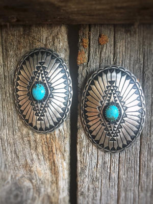 First Impressions: Concho Earrings