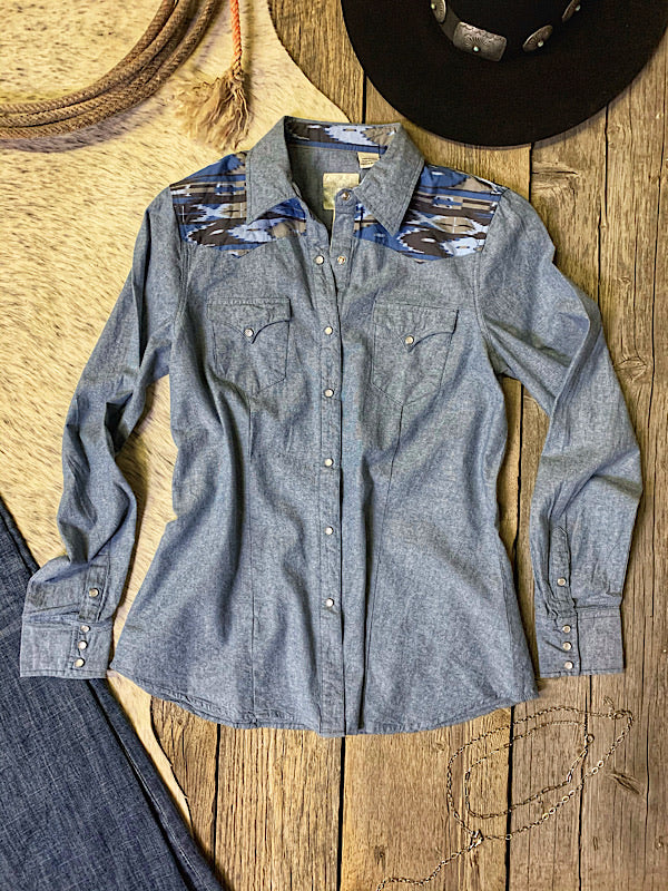 The Fort Worth: Chambray Button Up