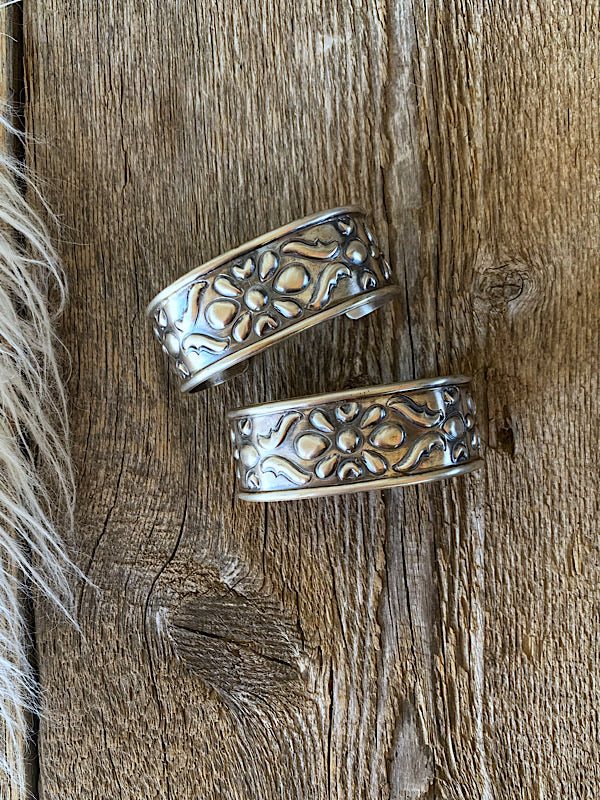 The Ada: Sterling Cuffs