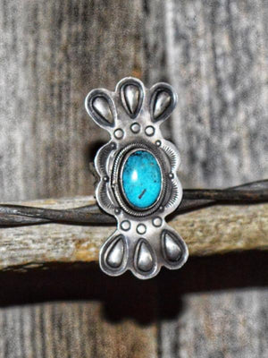 Why Not Me: Turquoise & Silver Ring
