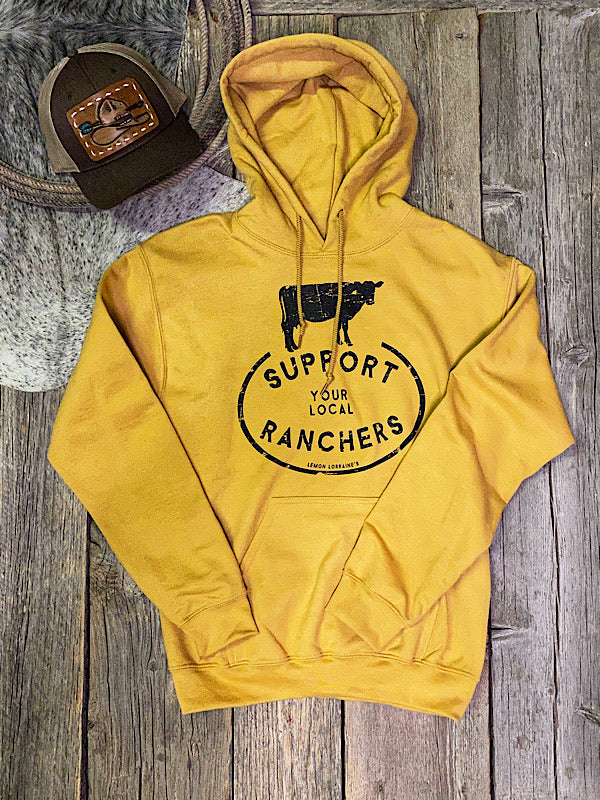 Support Your Local Rancher: Hoodie