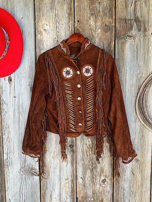 Red Rock: Beaded Jacket