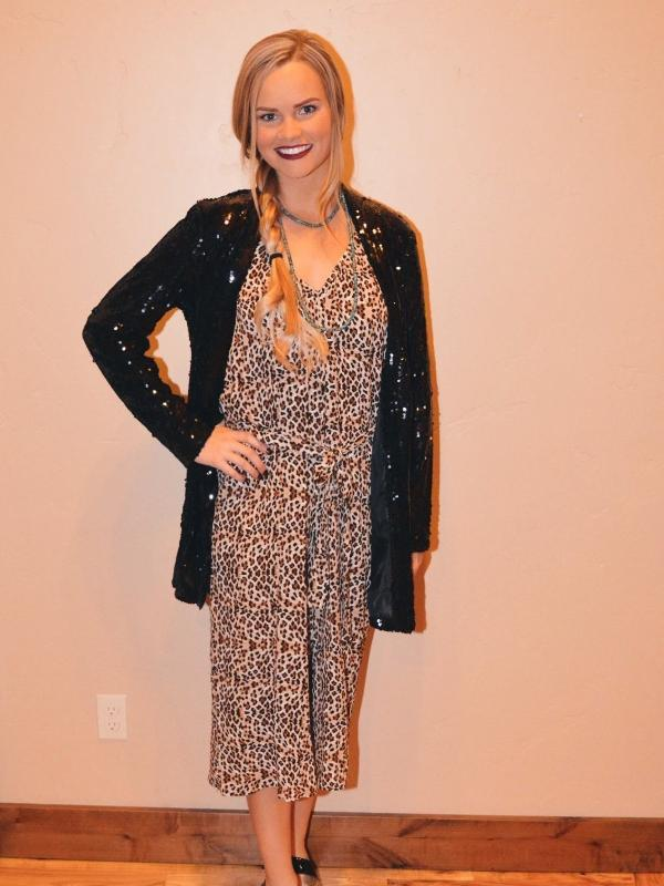 Two Dollar Pistol: Leopard Jumpsuit