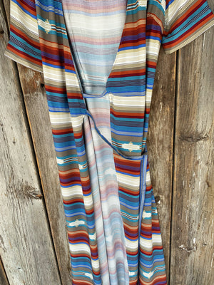 The Pretty Heart: Serape Dress