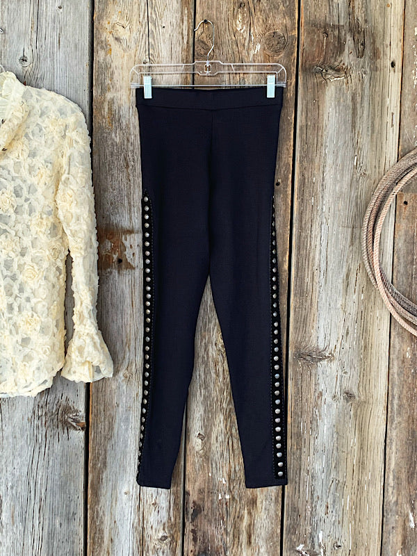 The Jillian: Studded Leggings