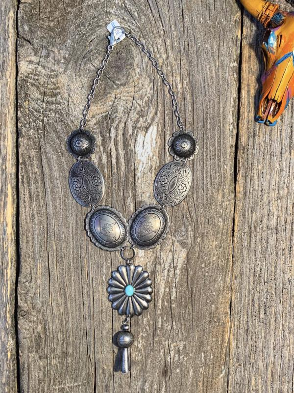 The Alamo: Concho Necklace
