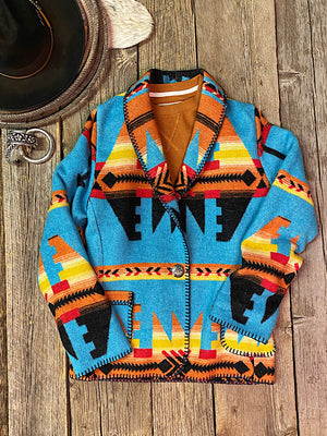Chimayo: Long Blazer