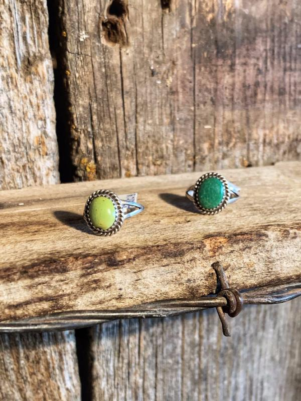 Everyday Fancy: Turquoise Rings