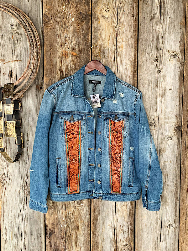 Spit Fire: Denim Jacket