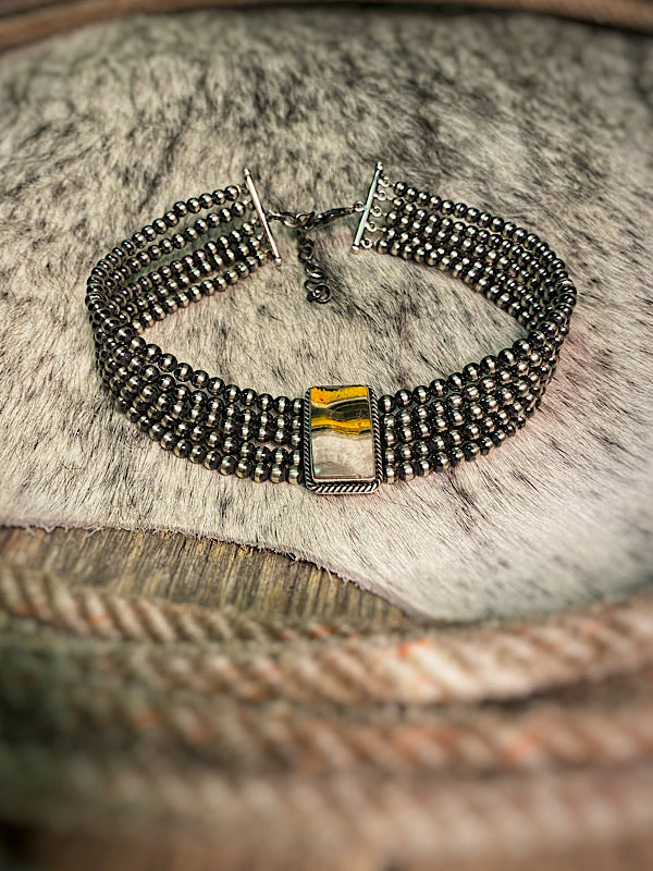 Sunshine: Bumble Bee Choker