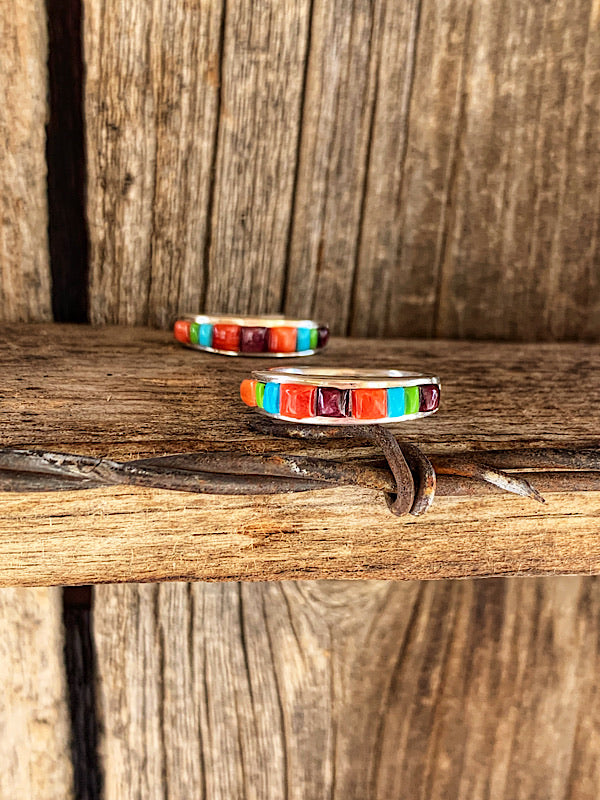 Wilder: Multi Colored Inlay Bands