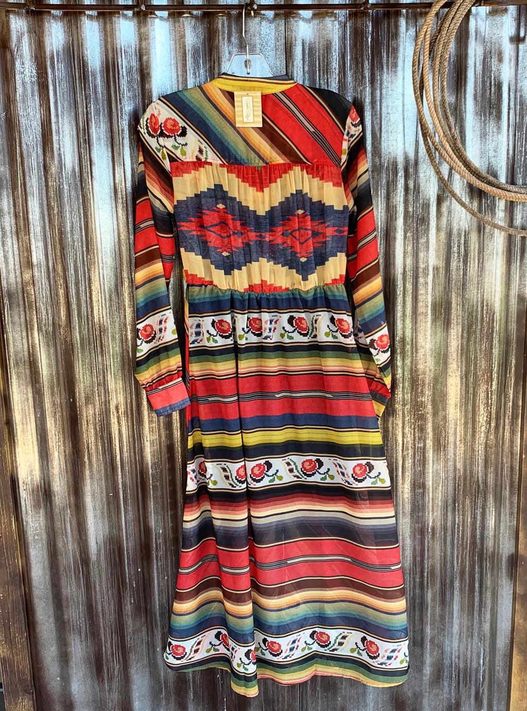 The Weatherford: Serape Dress
