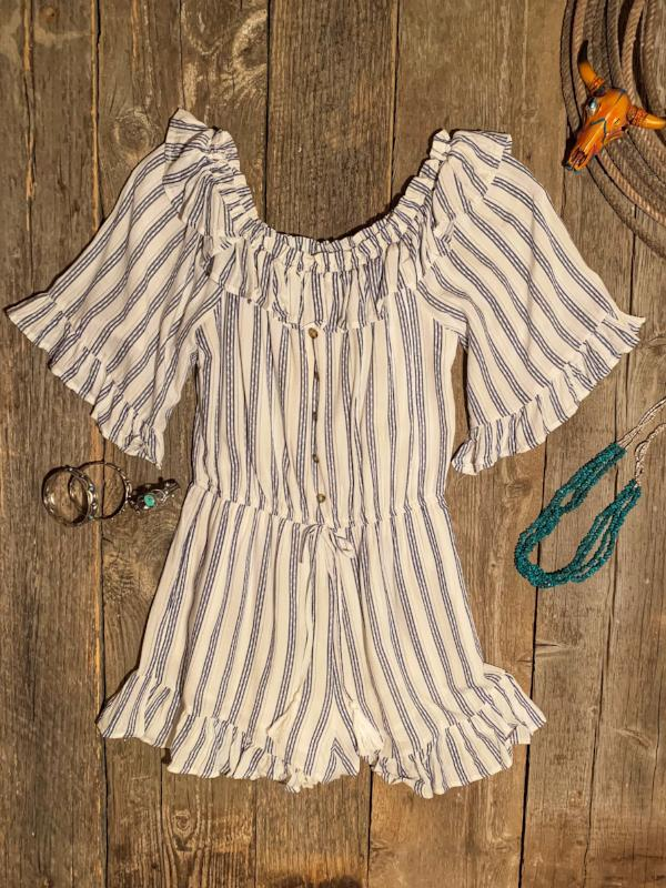 Springsteen: Striped Romper