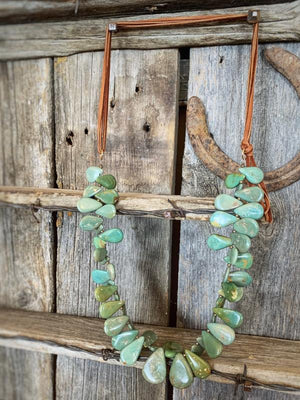 Lucky in Love: Kingman Turquoise Necklace
