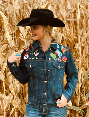 The Cowboy's Sweetheart: Denim Jacket