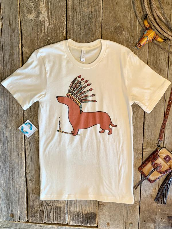 Weiner Dog Warrior: Tee Shirt