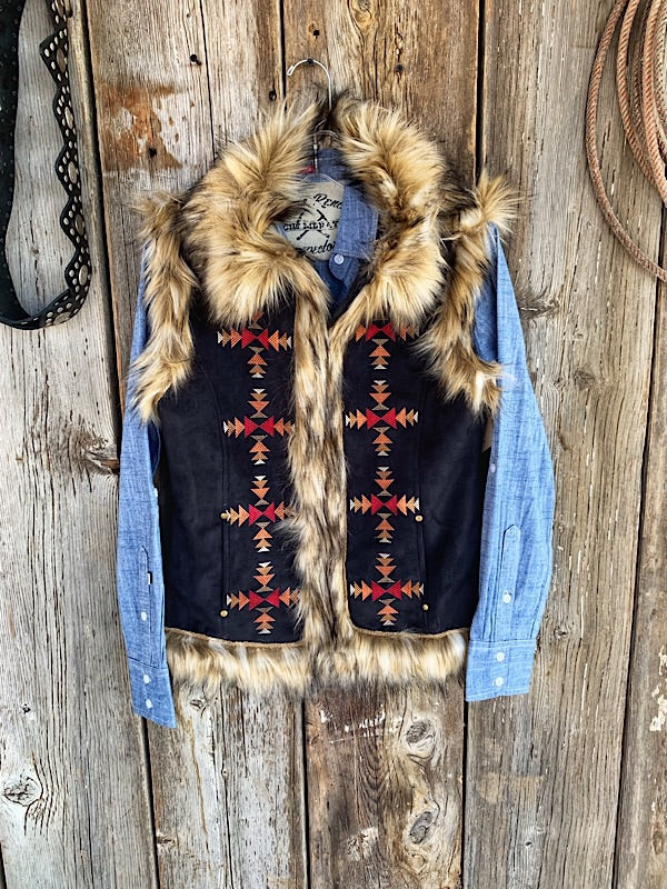 The Chateau: Fur Vest