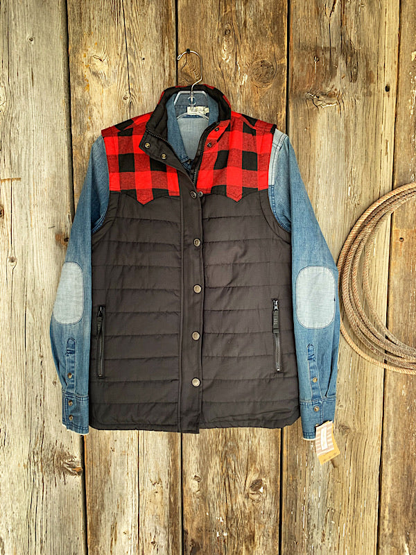 The Weaning Season: Buffalo Plaid Vest