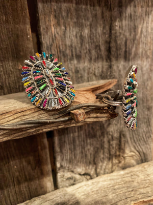 Sante Fe: Colored Cluster Rings