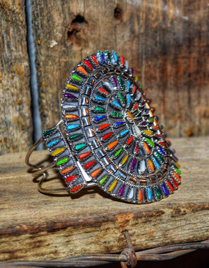 The Rainbow Burst: Zuni Cuff