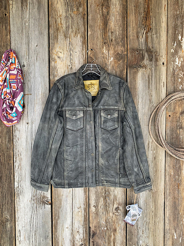 The Ranch Hand: Leather Jacket