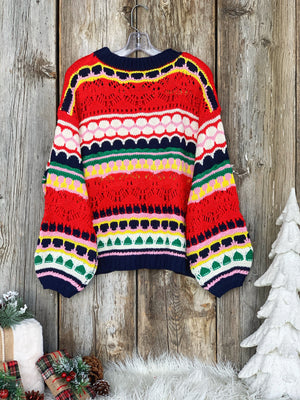 Home For the Holidays: Knit Sweater